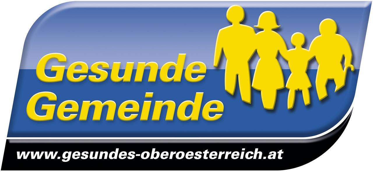 """Dieses Bild zeigt das Logo der """"Gesunden Gemeinde""""."""